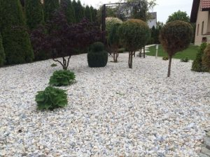 Kruszywa ogrodowe - ozdobne